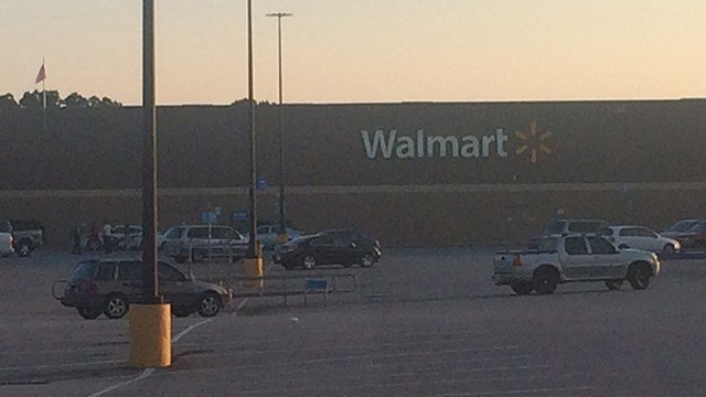 Walmart on Walton Drive in Gaffney (FOX Carolina/ 7/12/17)