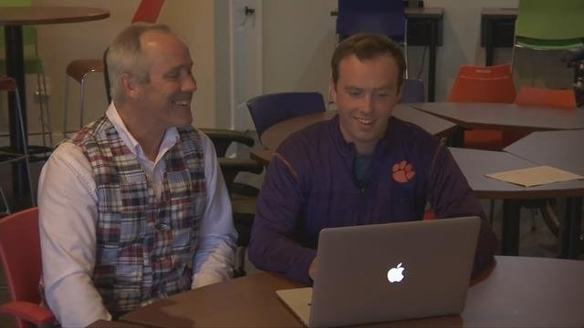 Clemson student designs software for first responders (July 12, 2017/FOX Carolina)
