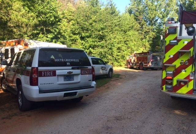 Fire crews on scene (FOX Carolina, July 13, 2017)