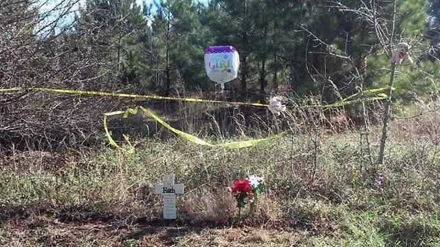 Memorial set up after newborn's body found (file/FOX Carolina)