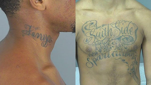 Haney's tattoos (Source: SCSO)