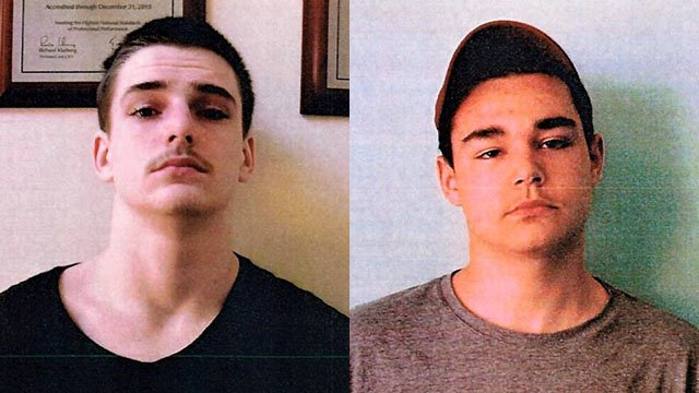 Steven Britt (left) and Esten Farino (right) (Source: Anderson County Sheriff's Office Facebook page)