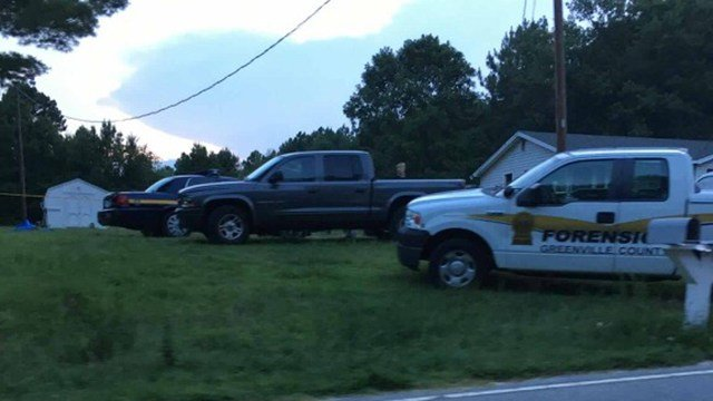 Scene on Standing Springs Road.