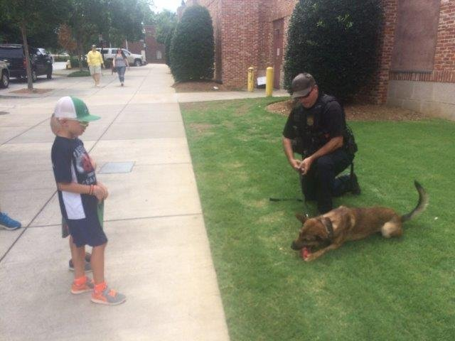 Greenville Drive hosts First Responders Day. (FOX Carolina/ 7/16/17)
