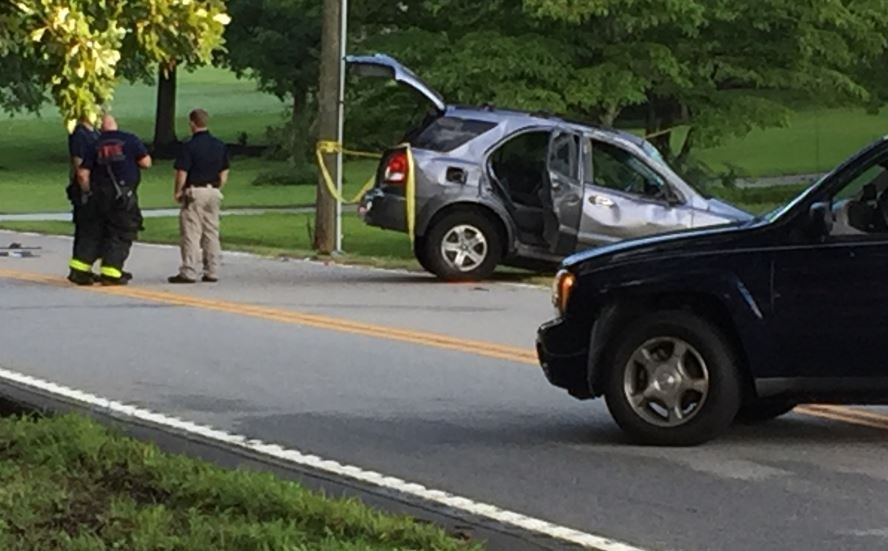 Enoree Rd. crash (FOX Carolina/ July 17, 2017)