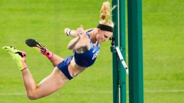 Sandi Morris competes in Brazil (Source:Erik van Leeuwen)