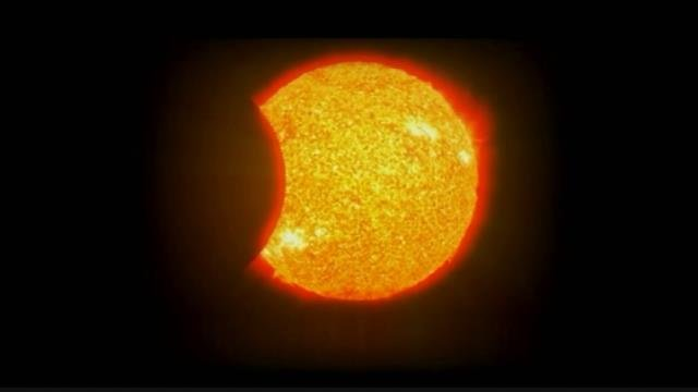 Solar eclipse (Courtesy: AP Graphics)