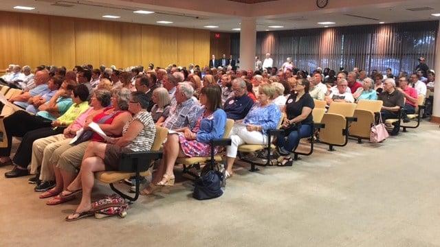 Greenville Co. Council meeting. (7/18/17 FOX Carolina)