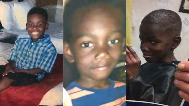 Left to right: Jushaun Hill, Jahleel Hill and Rashid Hill (Source: SCSO)