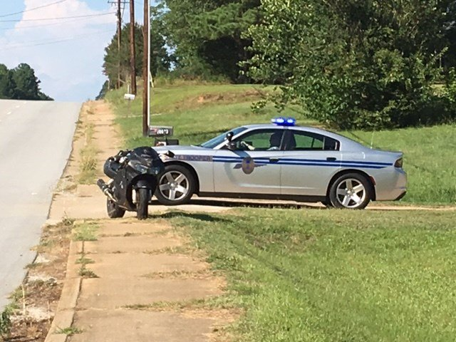 Troopers on scene of fatal motorcycle crash (July 19, 2017/FOX Carolina)