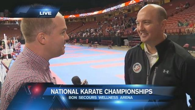 USA Karate National Championships held in Greenville