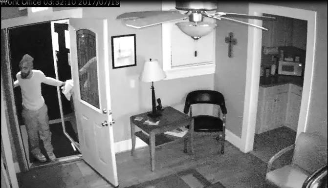 Simpsonville burglary suspect (Source: Simpsonville PD)