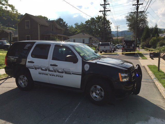 Scene of stabbing in Brevard (July 20, 2017/FOX Carolina)