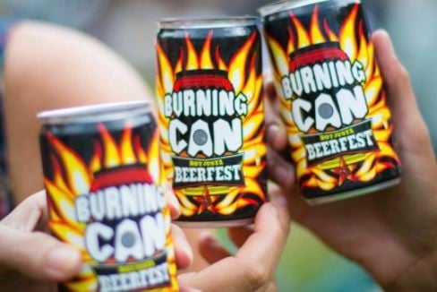 Oskar Blues' Burning CAN (not justa) Beer Fest starts Friday (Source: Oskar Blues, Instagram)