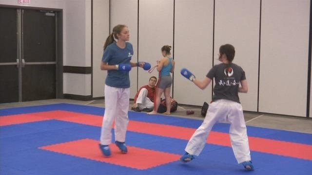 Greenville mother prepares for USA Karate Championships