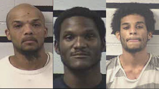 Left to right: Chadley Norris, Connell Hawkins and James Ray (Source: Brevard PD)