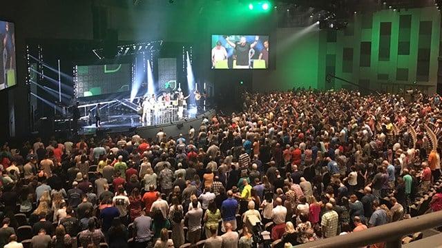 NewSpring leadership meeting (July 21, 2017/FOX Carolina)