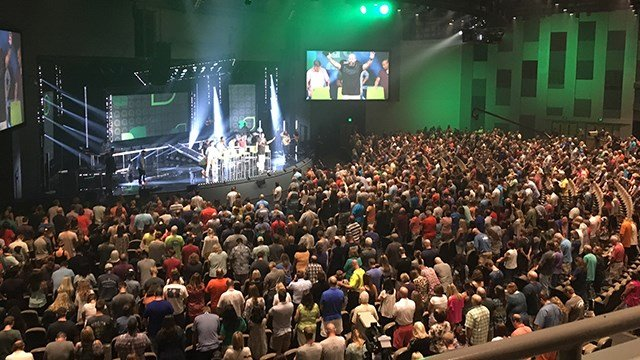 NewSpring leadership meeting (July 21, 2017/FOX Carolina)