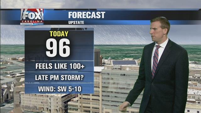 Ben: Intense heat Saturday with some chance for evening storms