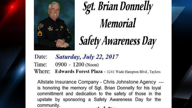 Event flyer (Source: GCSO)