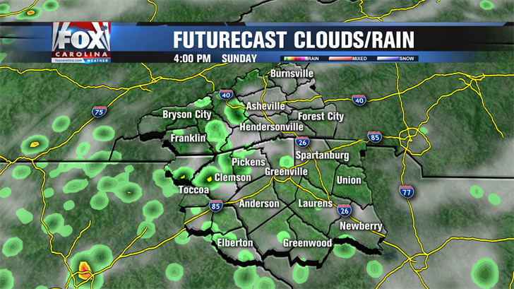 Rain chances still low but better than yesterday