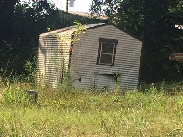 Outbuilding on Clifton Glendale Road (July, 23, 2017/FOX Carolina)