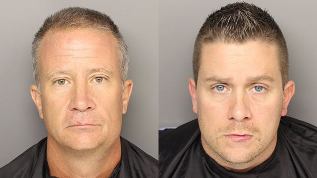 Russell Roth (L) and Eric Roth (Source: Greenville PD)