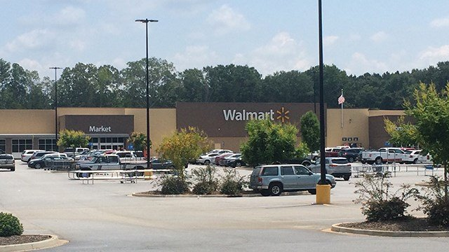 Walmart on Bypass 25 in Greenwood (July 23, 2017/FOX Carolina)