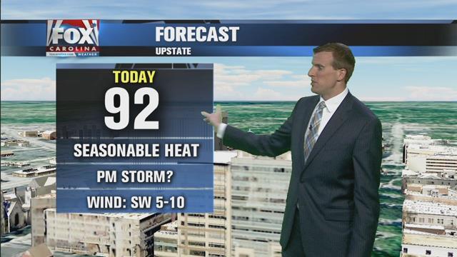 Ben: Less heat with lingering rain chances Monday