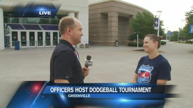 Greenville police to host dodgeball tournament