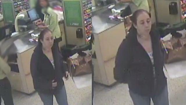 Surveillance photos of suspect (Courtesy: GPD)