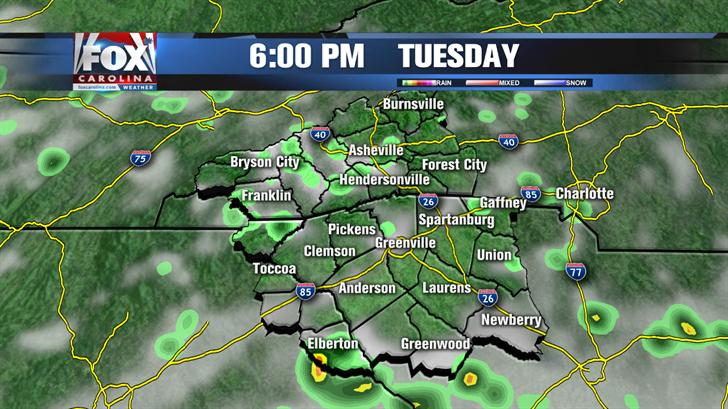 Friday forecast: rain likely to stick around, high 84