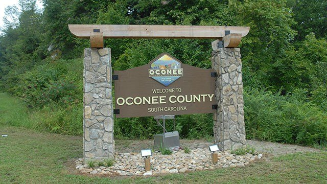Oconee County welcome sign (Source: Oconee Co. Sheriff's Office)