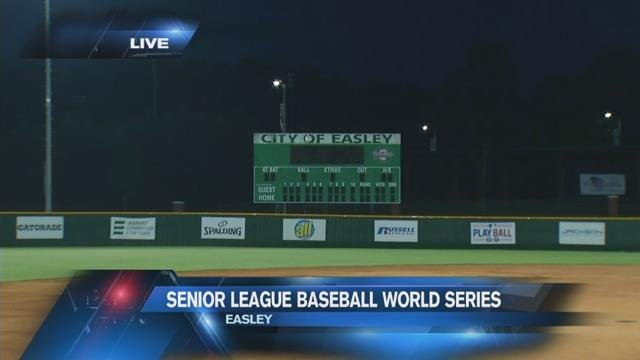 Senior League Baseball World Series in Easley (Fox Carolina/ July 26, 2017)
