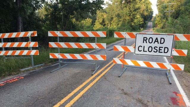 SCDOT: Detour in place as Bracken Rd bridge closed for repairs (FOX Carolina/ 7/26/17)