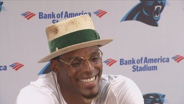 Cam Newton talks about upcoming Panthers season