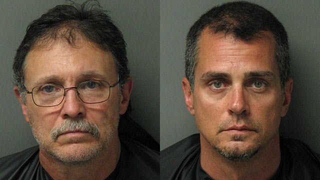 Tony Jenkins (L) and Joseph Beyer (Source: Oconee Co. Sheriff's Office)