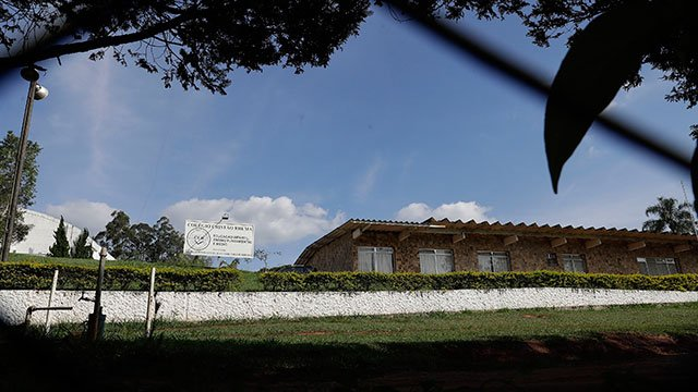 Ministerio Evangelico Comunidade Rhema in Franco da Rocha, Brazil, in the greater Sao Paulo area, operated by the Word of Faith Fellowship. (Source: AP Photo/Andre Penner)