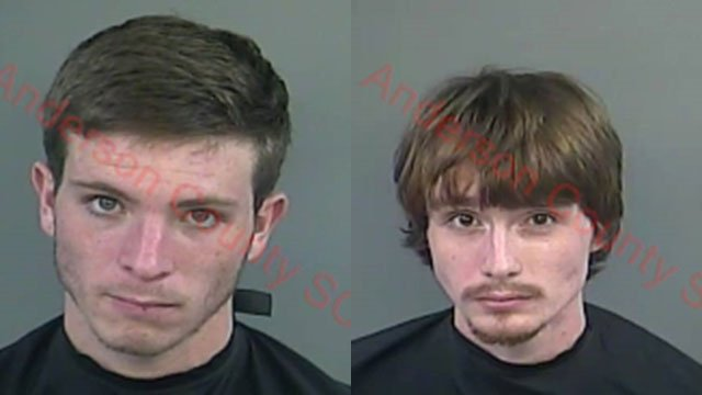 Ronnie Pittman (left) and Christopher Gist (right) (Source: Anderson County Detention Center)