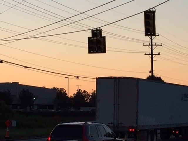 Traffic light out at Highway 290 (July 31, 2017/FOX Carolina)