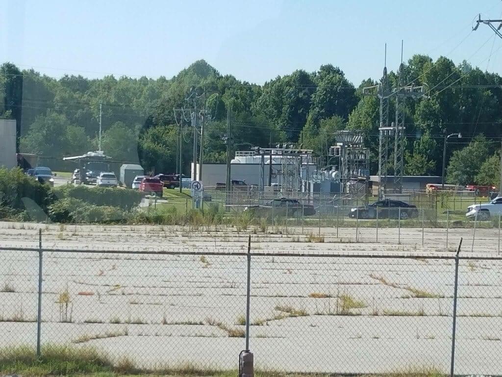 Authorities on scene at Honeywell Aerospace (Source: iWitness)