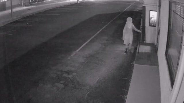 Screenshot from surveillance footage. (Source: Gaffney PD video)