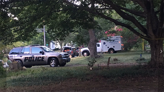 Scene of the investigation in Hartwell. (Source: Reed)