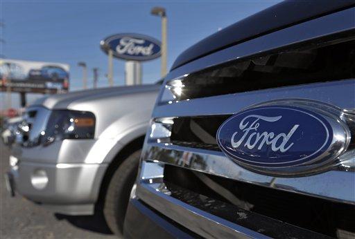 Ford logo  (AP Photo/Chris O'Meara)