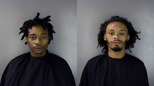 Cedric D. Elmore (left) and Nathaniel Tyler Wideman (right) (Source: GCSO)