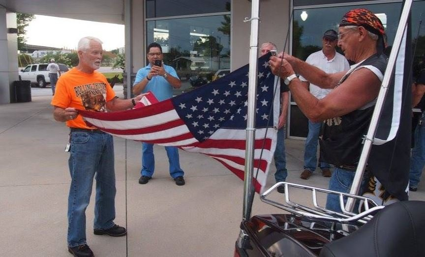 Past Patriot Tour Stop at Harley Davidson of Greenville (Source: Patriot Tour)
