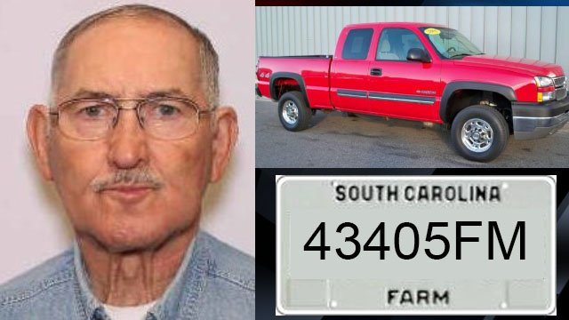 Endangered Person Alert issued for missing SC man