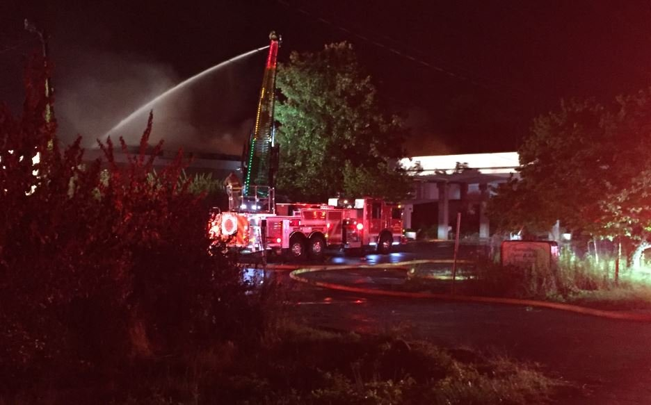 Spartanburg motel fire (August 8, 2017/ FOX Carolina)