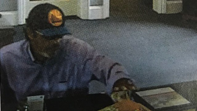 Suspect in BNC bank robbery (Source: Greenville PD)