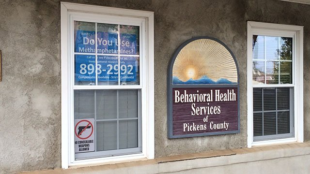 Behavioral Health Services of Pickens County seeks meth users to participate in new study. (FOX Carolina/ 8/9/17)